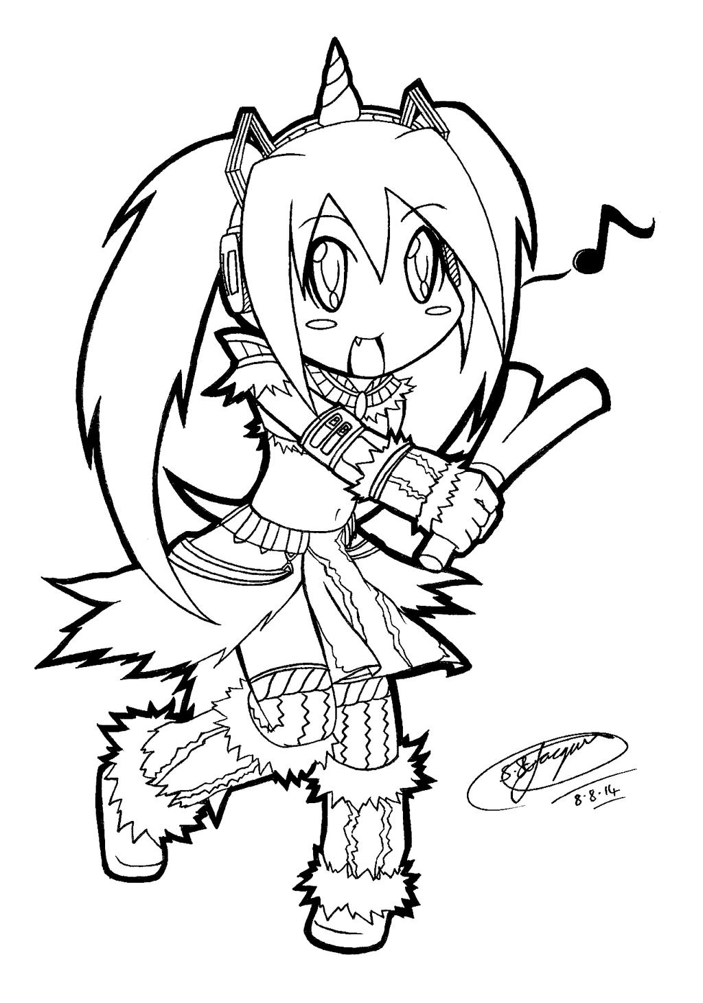 chibi miku hatsune in monster hunter cosplay 3 by shannonxnaruto on deviantart