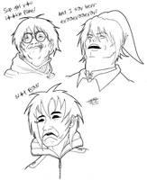 Random Creepypasta Meme Sketch Exercise. :3 by ShannonxNaruto