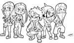 Chibi Team Skull! :3 by ShannonxNaruto