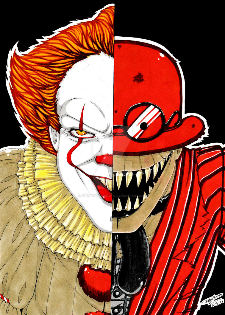 Pennywise VS The Crooked Man! :3 by ShannonxNaruto