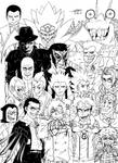 My Favourite Villains: Part Four. :3 by ShannonxNaruto