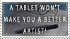 Tablet Stamp by Digi-fish