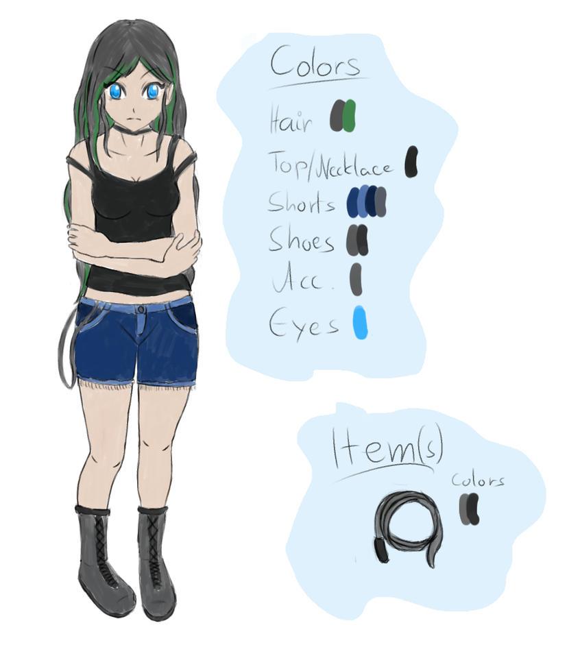 New OC Concept Art by HimeSeira-sama