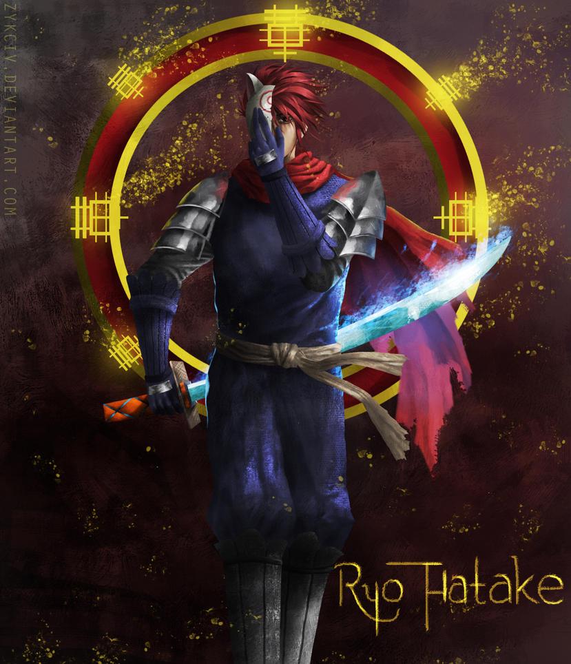 [Commission] Ninja Saga - Ryo Hatake by Zykciv