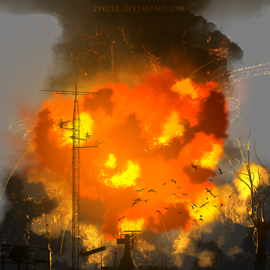 Art is an Explosion by Zykciv