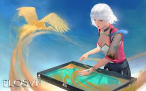 Anne - The Sand Artist.