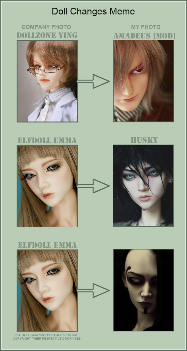 Doll Changes Meme. Part I (new) by ArgentumFool