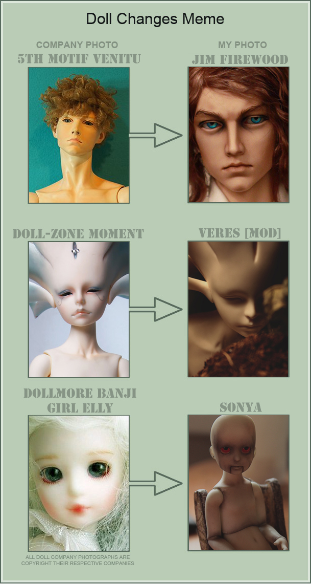 Doll Changes Meme. Part III by ArgentumFool