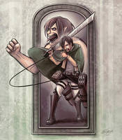 Attack on Titan - Eren by SasuArt-SW