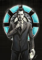 Tony Stark by SasuArt-SW
