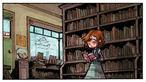 Inside the Dead Hand Used Bookstore COLOR!