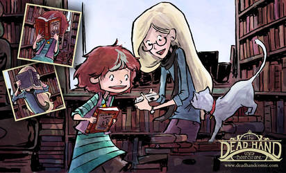 Bookface by AmeliaPenDraws