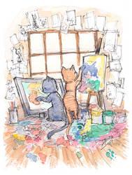 Kitten Artists