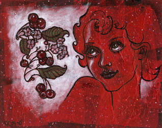 Cherry Red by pinupsbykeeegan