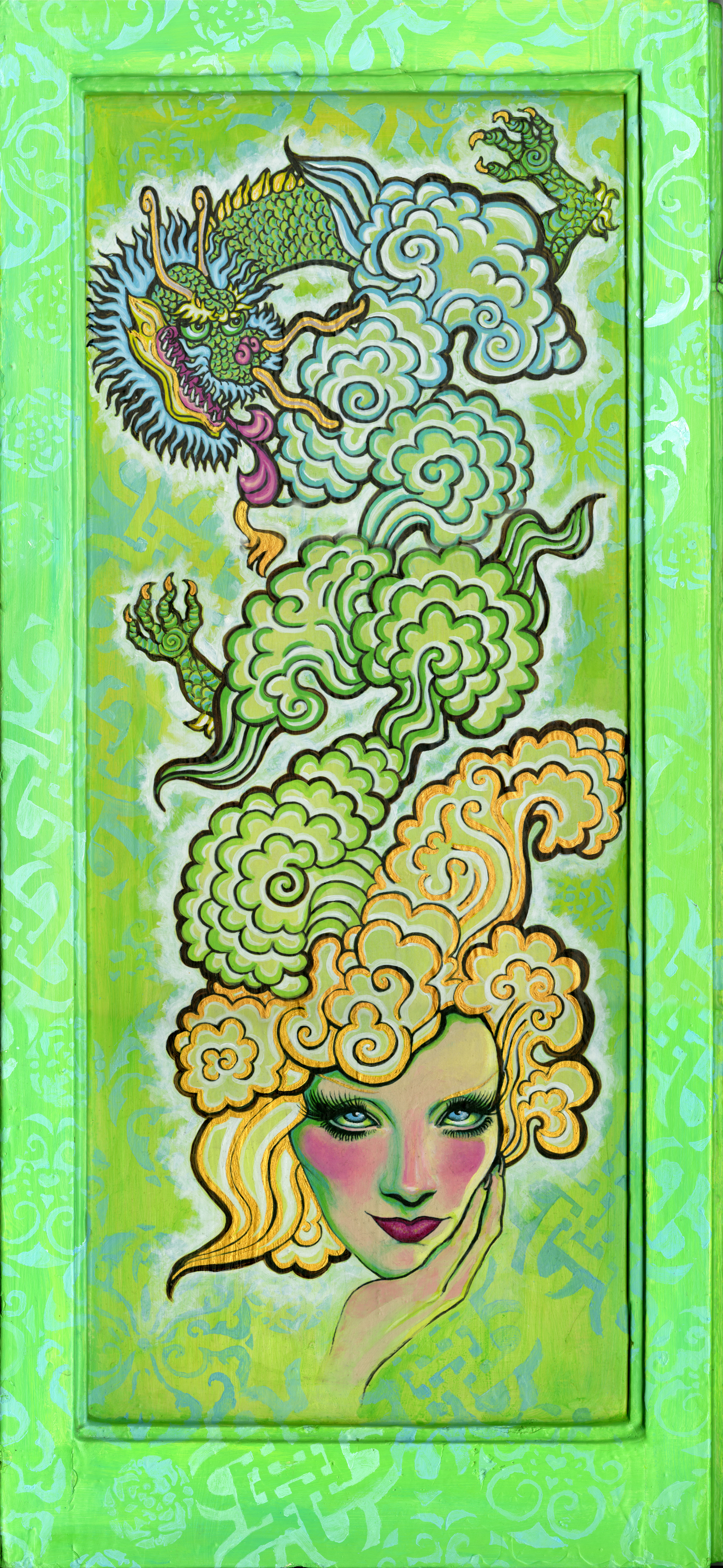 The Dreams of Shanghai Lily (front) by pinupsbykeeegan