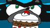 Mephiles and the cake stamp 1 by EHBTheKomata