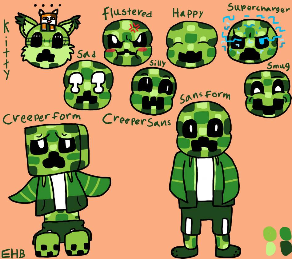 Creeper Sans Character Sheet