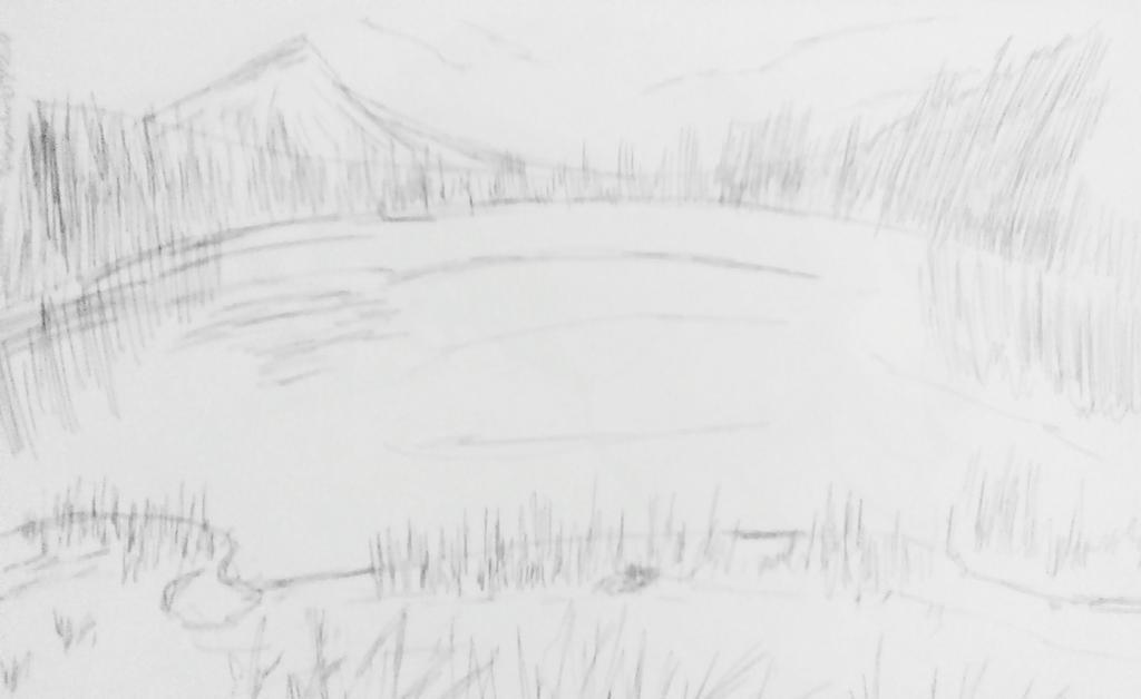Lakeside Landscape by AceOfKeys72