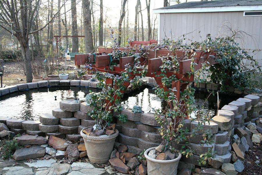Homemade Koi Pond By Lissy45213 On Deviantart