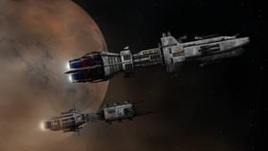 MGSC Mars Dawn Patrol