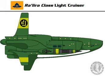 Ra'lira Class Light Cruiser by Martechi