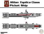 TCCU Milan Toplica Picket Ship