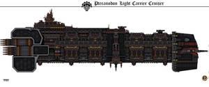 Pteranodon Light Carrier Cruiser by Martechi