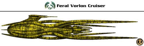 Vorlon Feral Cruiser by Martechi
