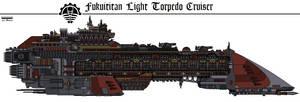 Fukuititan Torpedo Cruiser by Martechi