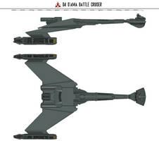 D4 D'Ama Battle Cruiser by Martechi