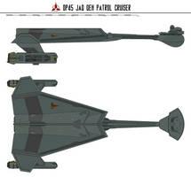 DP-45 jaq QeH Patrol Cruiser by Martechi