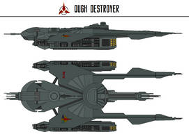 Qugh Destroyer by Martechi