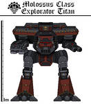 Molossus Explorator Titan (Cambrian Warhound)