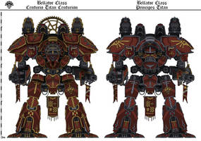 Bellator Principes+Centurion (Cambrian Warlords) by Martechi
