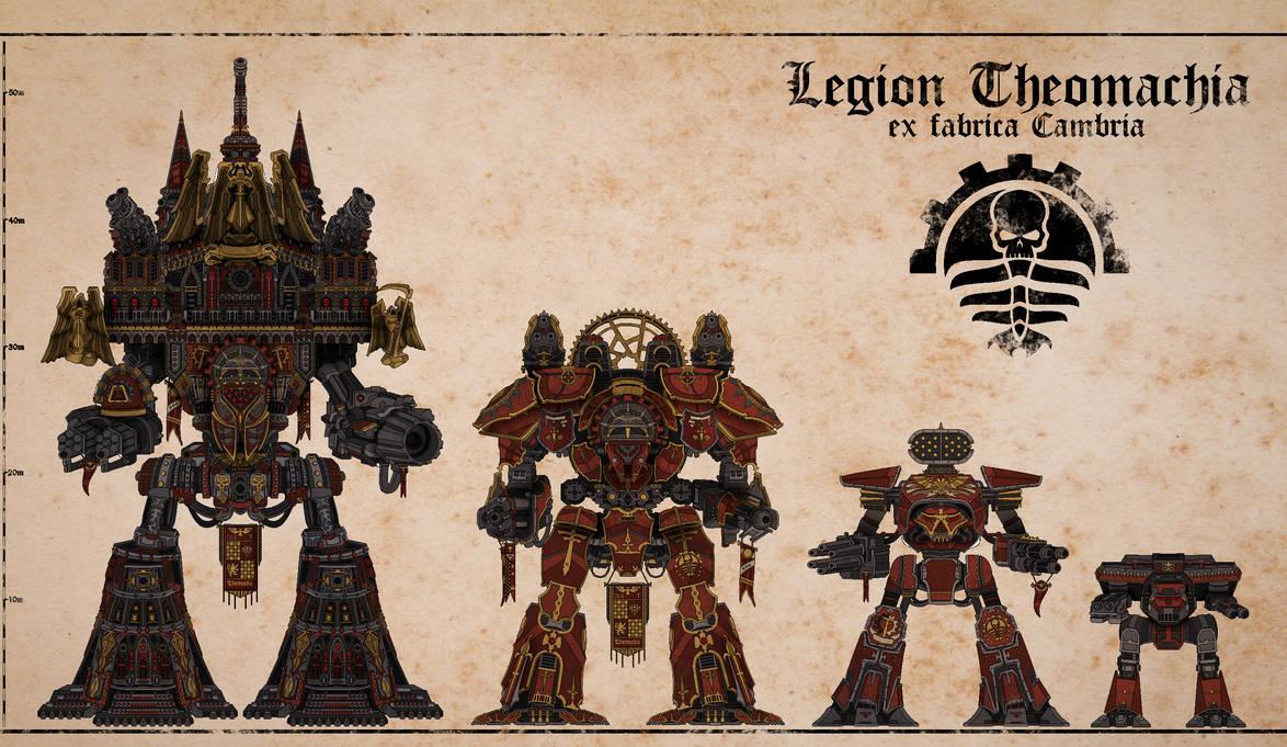 Titans of Legio Theomachia (I) by Martechi
