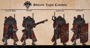 Cambrian Venandi and Legionarii by Martechi