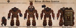 Bellum machinis Kastelan by Martechi