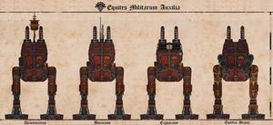 Equites Militarum Auxilia by Martechi