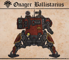 Cambrian Onager Dunecrawler by Martechi