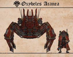 Oxybeles Aranea by Martechi