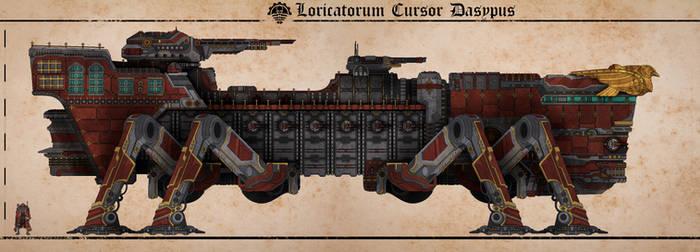 Loricatorum Cursor Dasypus