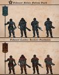 Gahmuret Fortress Guard / Auxiliary Guardsmen