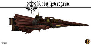 Ruby Peregrine (Rogue Trader) by Martechi