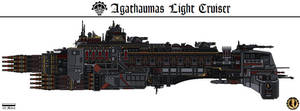 Agathaumas Light Cruiser (Cambria) by Martechi