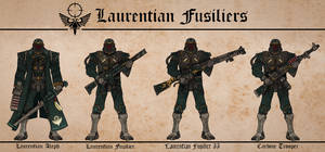 Laurentian Blood Brethren Fusiliers by Martechi