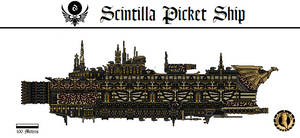 Scintilla Picket Ship (Trantor) by Martechi