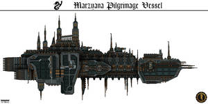 Marzyana Pilgrimage Vessel (Hallowed Glaive) by Martechi