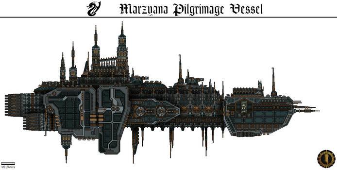 Marzyana Pilgrimage Vessel (Hallowed Glaive)