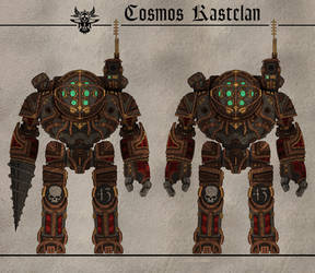 Cosmos Kastelan Automata (Ruby Mariners) by Martechi