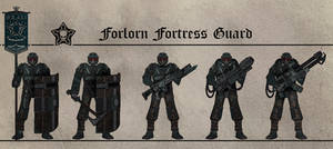 Forlorn Fortress Guardsmen by Martechi